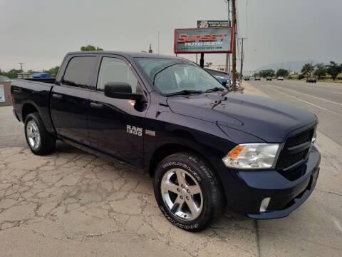 2017 RAM Ram Pickup 1500 for sale at Sunset Auto Body in Sunset UT