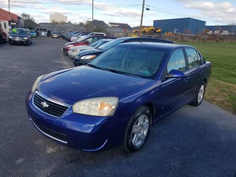 2007 Chevrolet Malibu for sale at Credit Connection Auto Sales Inc. CARLISLE in Carlisle PA