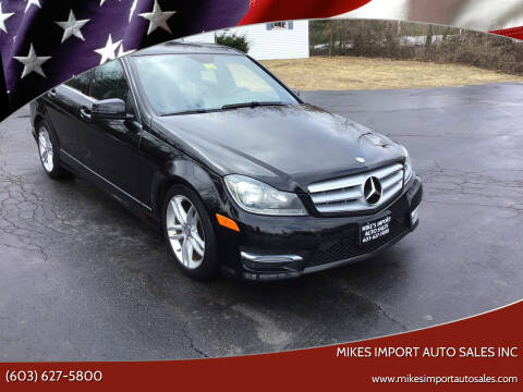 2013 Mercedes-Benz C-Class for sale at Mikes Import Auto Sales INC in Hooksett NH
