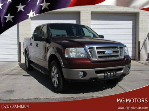 2006 Ford F-150 for sale at MG Motors in Tucson AZ