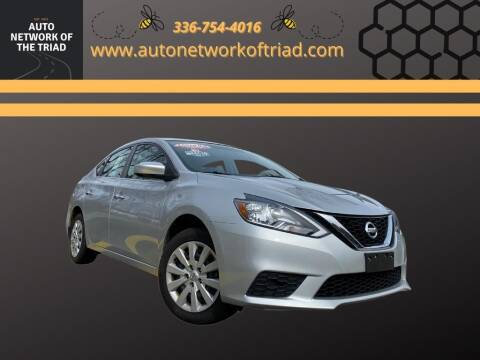 2017 Nissan Sentra for sale at Auto Network of the Triad in Walkertown NC