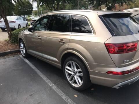 2018 Audi Q7 for sale at Southern Auto Solutions-Jim Ellis Hyundai in Marietta GA