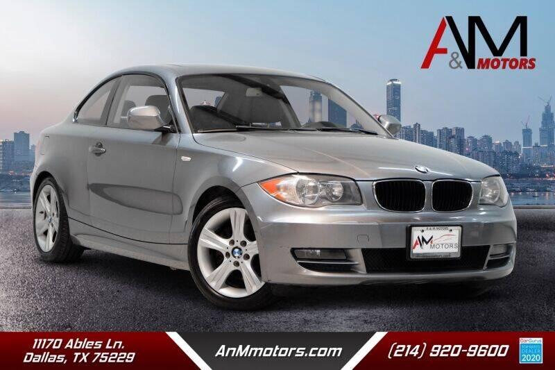 2010 BMW 1 Series for sale in Dallas, TX