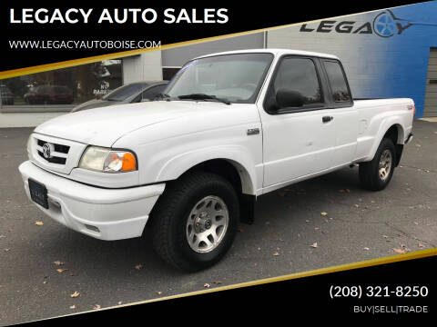 2002 Mazda Truck for sale at LEGACY AUTO SALES in Boise ID