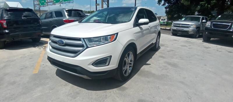 2015 Ford Edge for sale at AUTOTEX FINANCIAL in San Antonio TX