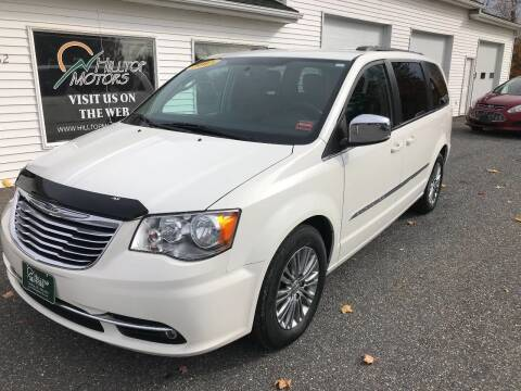 2013 Chrysler Town and Country for sale at HILLTOP MOTORS INC in Caribou ME