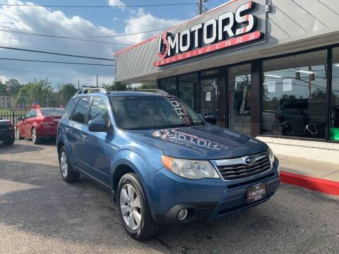 2010 Subaru Forester for sale at i3Motors in Baltimore MD