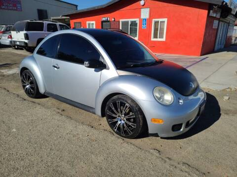 2004 Volkswagen New Beetle for sale at E and M Auto Sales in Bloomington CA