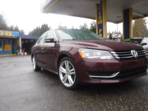 2014 Volkswagen Passat for sale at Brooks Motor Company, Inc in Milwaukie OR