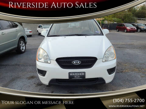2008 Kia Rondo for sale at Riverside Auto Sales in Saint Albans WV