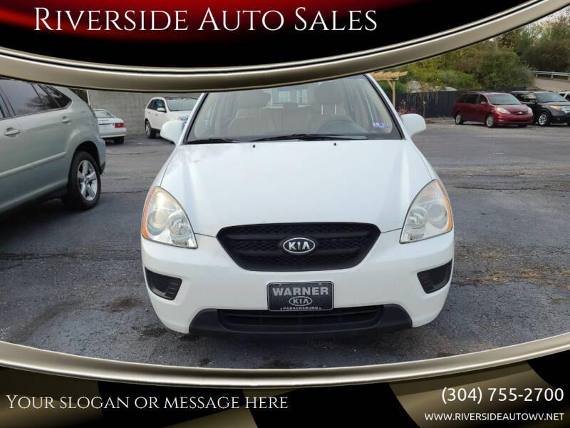 2008 Kia Rondo for sale at Riverside Auto Sales in Saint Albans WV