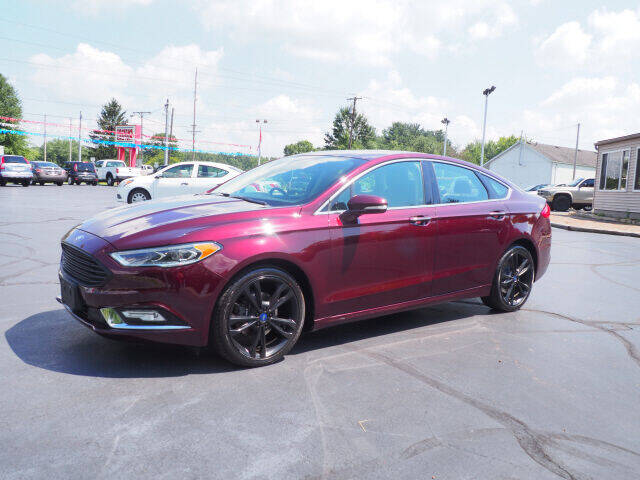 2017 Ford Fusion for sale at Patriot Motors in Cortland OH