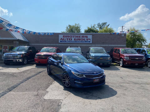 2016 Kia Optima for sale at Brothers Auto Group in Youngstown OH