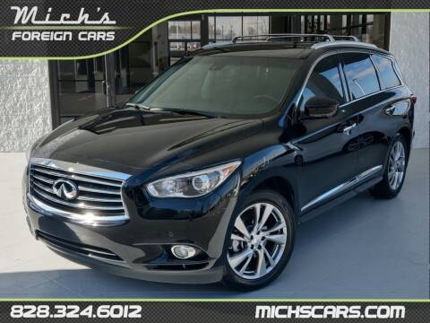 2015 Infiniti QX60 for sale at Mich's Foreign Cars in Hickory NC