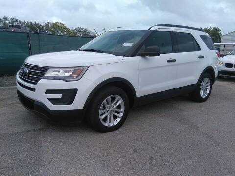 2017 Ford Explorer for sale at Florida Fine Cars - West Palm Beach in West Palm Beach FL
