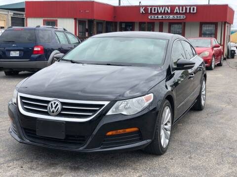 2012 Volkswagen CC for sale at K Town Auto in Killeen TX