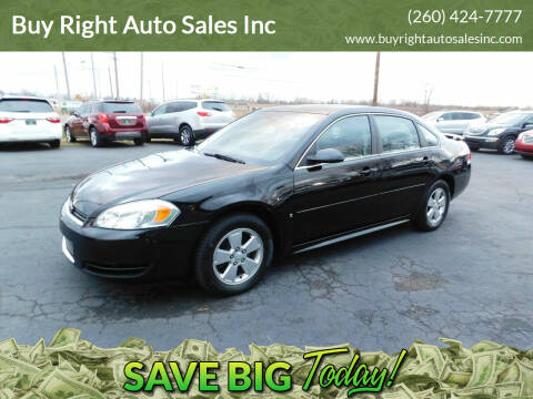 2009 Chevrolet Impala for sale at Buy Right Auto Sales Inc in Fort Wayne IN