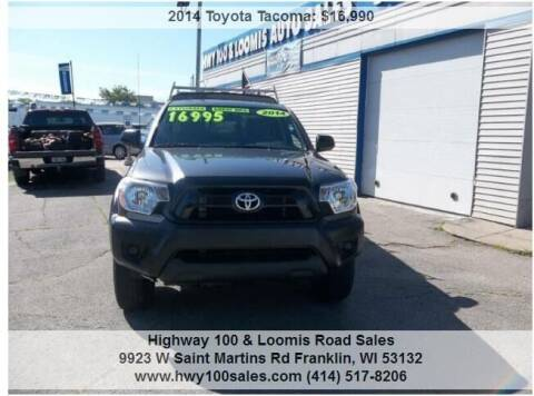 2014 Toyota Tacoma for sale at Highway 100 & Loomis Road Sales in Franklin WI