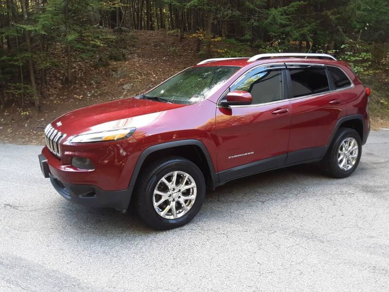 2014 Jeep Cherokee for sale at H P M Sales in Goffstown NH