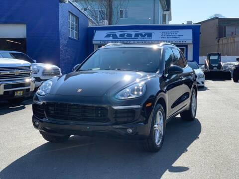 2015 Porsche Cayenne for sale at AGM AUTO SALES in Malden MA