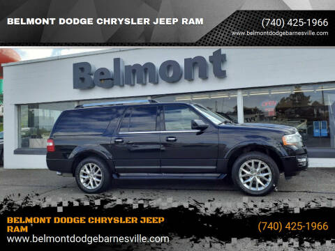 2017 Ford Expedition EL for sale at BELMONT DODGE CHRYSLER JEEP RAM in Barnesville OH