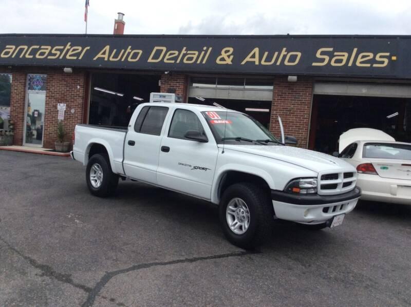 2001 Dodge Dakota for sale at Lancaster Auto Detail & Auto Sales in Lancaster PA