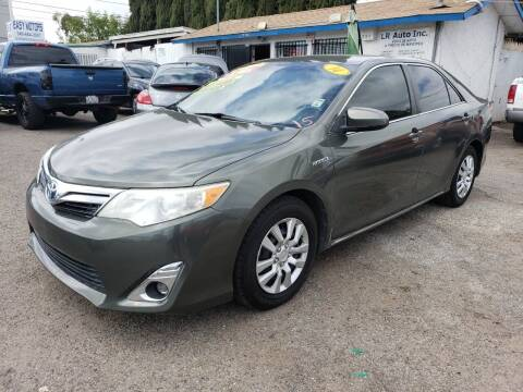 2014 Toyota Camry Hybrid for sale at LR AUTO INC in Santa Ana CA
