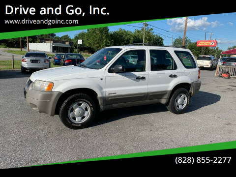 2001 Ford Escape for sale at Drive and Go, Inc. in Hickory NC