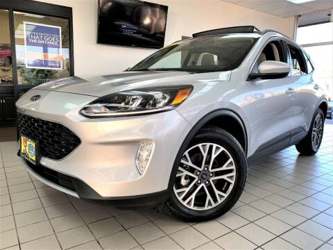 2020 Ford Escape for sale at SAINT CHARLES MOTORCARS in Saint Charles IL