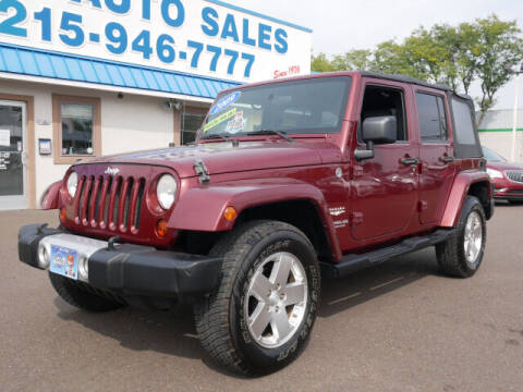 2009 Jeep Wrangler Unlimited for sale at B & D Auto Sales Inc. in Fairless Hills PA