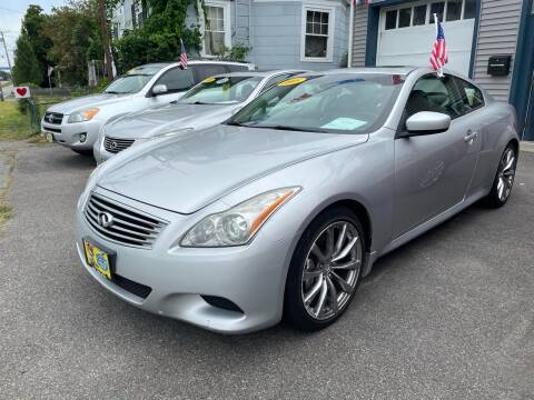 2008 Infiniti G37 for sale at JK & Sons Auto Sales in Westport MA