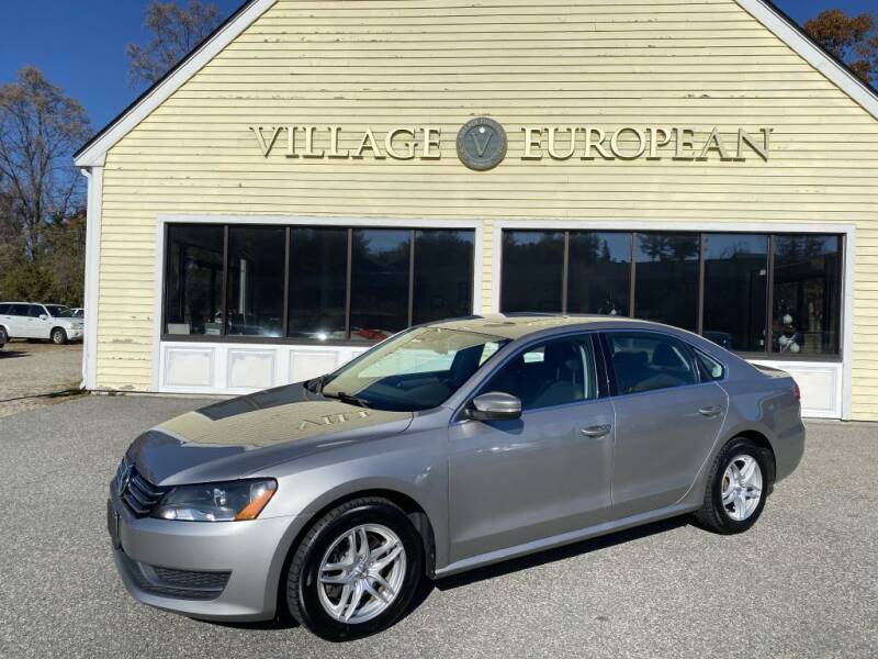 2014 Volkswagen Passat for sale at Village European in Concord MA