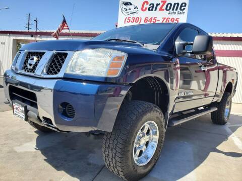 2006 Nissan Titan for sale at CarZone in Marysville CA