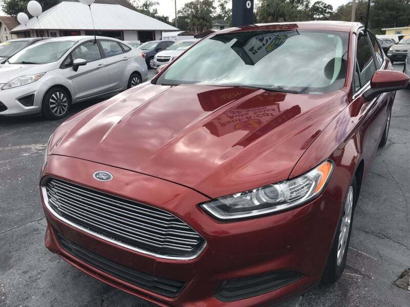 2014 Ford Fusion for sale at AFFORDABLE AUTO SALES in We Finance Everyone! FL