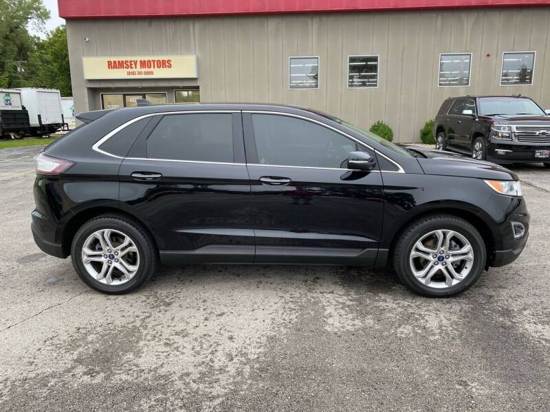 2017 Ford Edge for sale at Ramsey Motors in Riverside MO