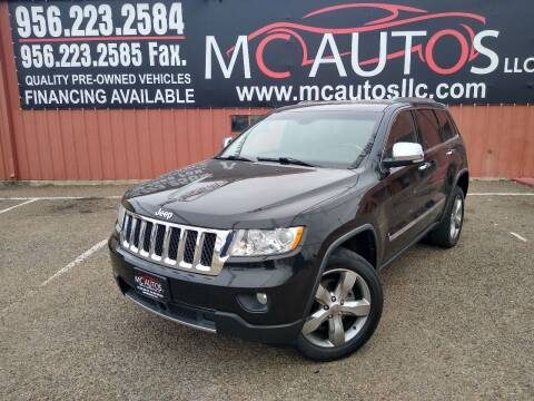 2012 Jeep Grand Cherokee for sale at MC Autos LLC in Pharr TX