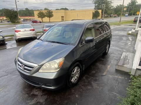 2006 Honda Odyssey for sale at SUN AUTOMOTIVE in Greensboro NC