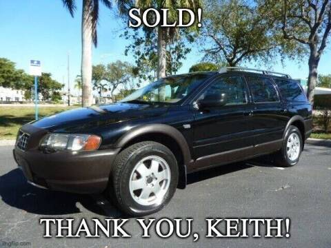 2003 Volvo XC70 for sale at VehicleVille in Fort Lauderdale FL