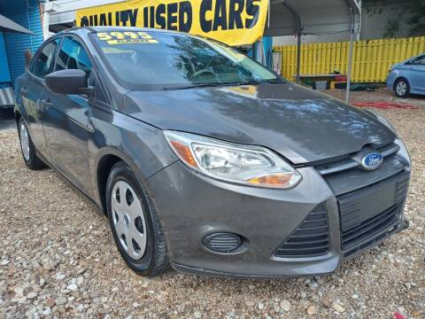 2012 Ford Focus for sale at AFFORDABLE AUTO SALES OF STUART in Stuart FL