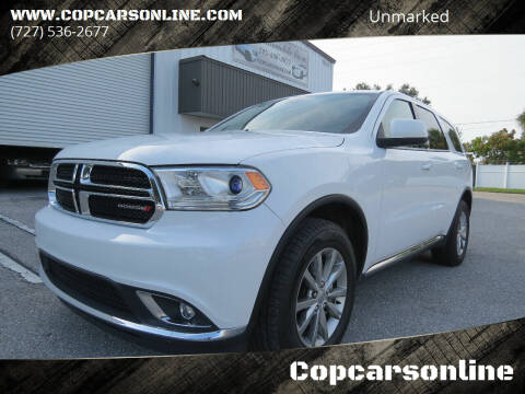 2017 Dodge Durango for sale at Copcarsonline in Largo FL