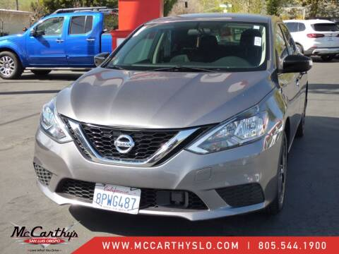 2018 Nissan Sentra for sale at McCarthy Wholesale in San Luis Obispo CA