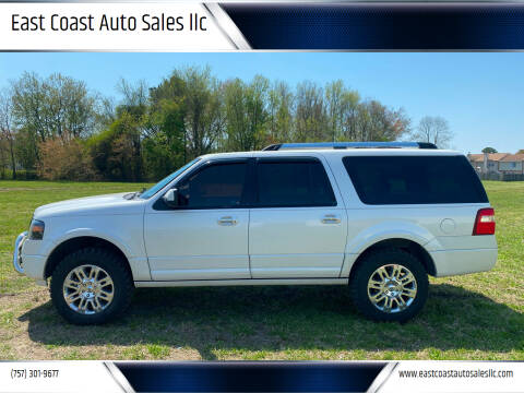 2014 Ford Expedition EL for sale at East Coast Auto Sales llc in Virginia Beach VA