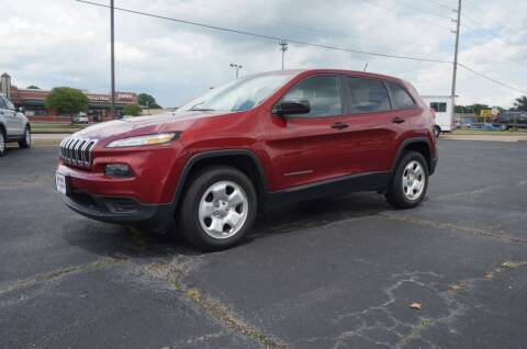 2017 Jeep Cherokee for sale at Certified Auto Center in Tulsa OK