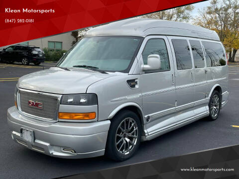 2013 GMC Savana Cargo for sale at Klean Motorsports in Skokie IL
