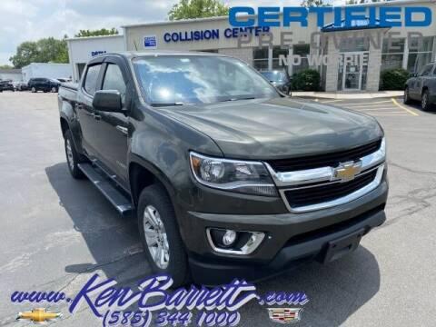 2018 Chevrolet Colorado for sale at KEN BARRETT CHEVROLET CADILLAC in Batavia NY