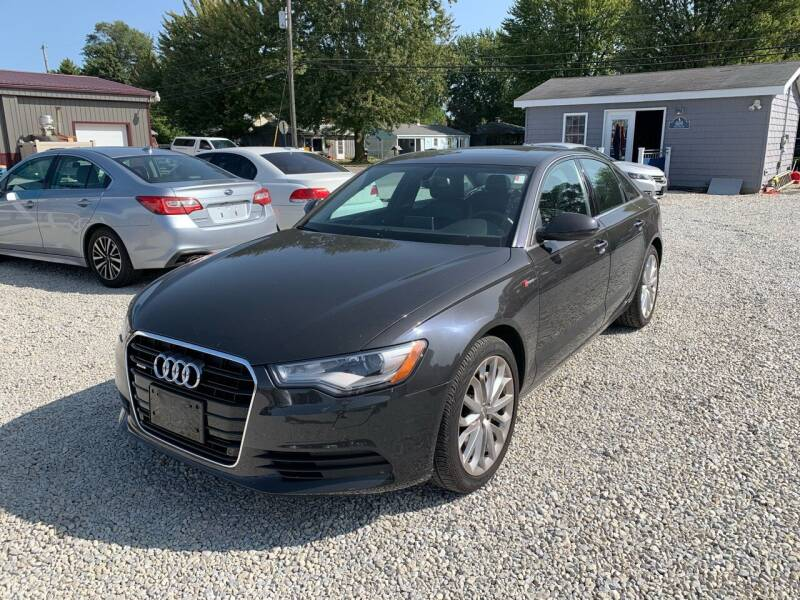 2014 Audi A6 for sale at Davidson Auto Deals in Syracuse IN