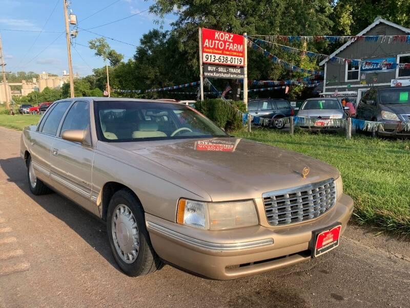 1998 Cadillac DeVille for sale at Korz Auto Farm in Kansas City KS