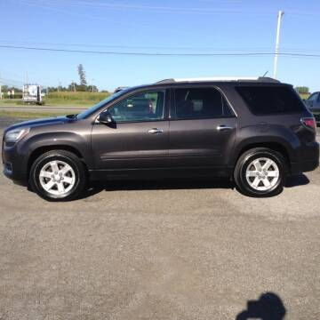 2013 GMC Acadia for sale at Kevin's Motor Sales in Montpelier OH