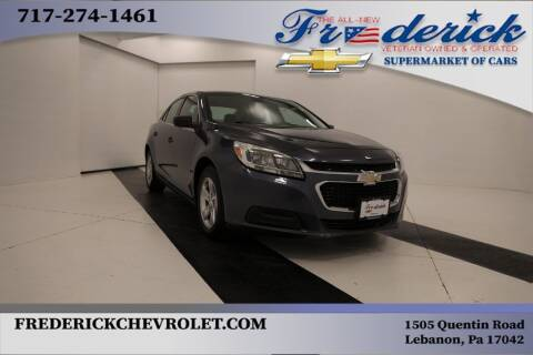 2014 Chevrolet Malibu for sale at Lancaster Pre-Owned in Lancaster PA