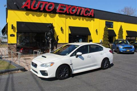 2017 Subaru WRX for sale at Auto Exotica in Red Bank NJ